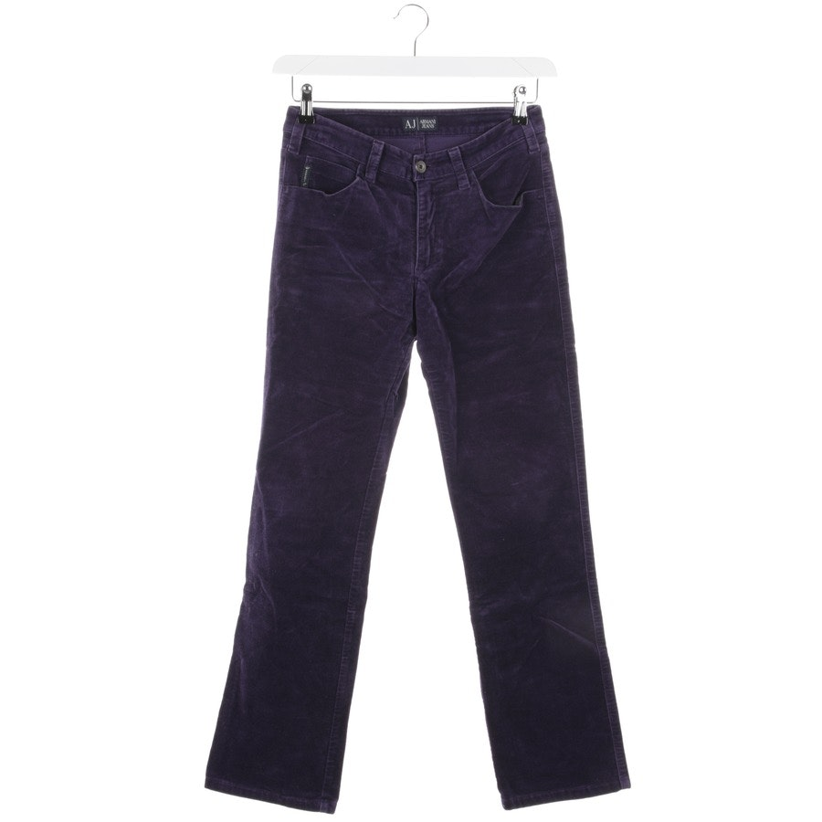 trousers from Armani Jeans in purple size W28