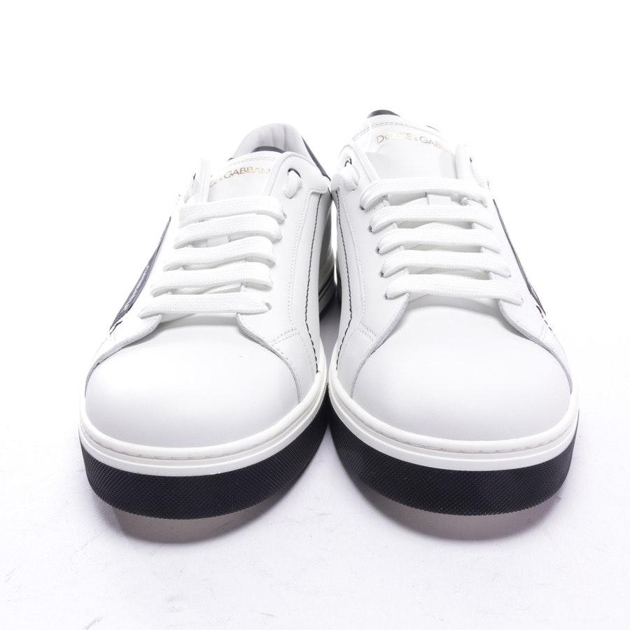 Sneaker von Dolce & Gabbana in Weiß und Schwarz Gr. EUR 42 - Neu