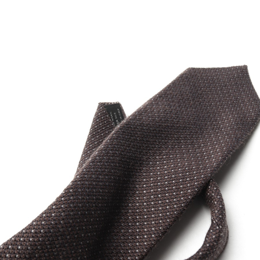 ties from Tom Ford in brown and grey