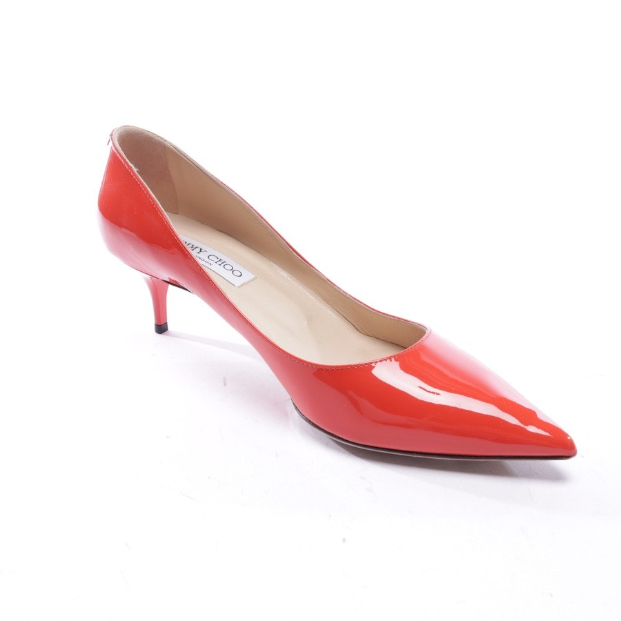 pumps from Jimmy Choo in red size EUR 39,5