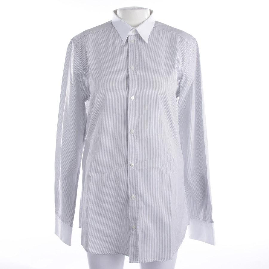 Bluse von Dolce & Gabbana in Weiß und Schwarz Gr. M