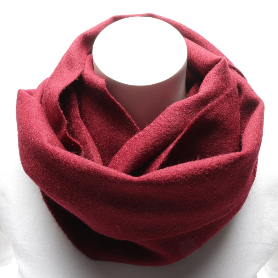 scarf from Yves Saint Laurent in burgundy