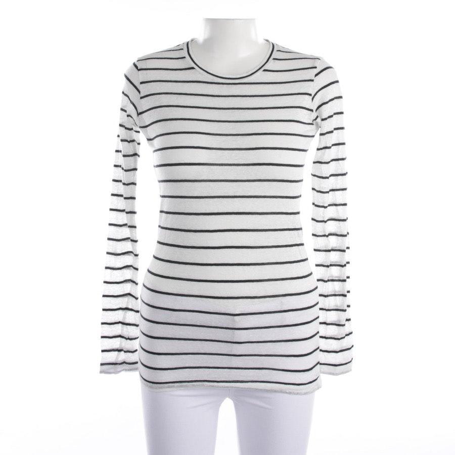 Langarmshirt von Isabel Marant Étoile in Weiß und Schwarz Gr. XS - Neu