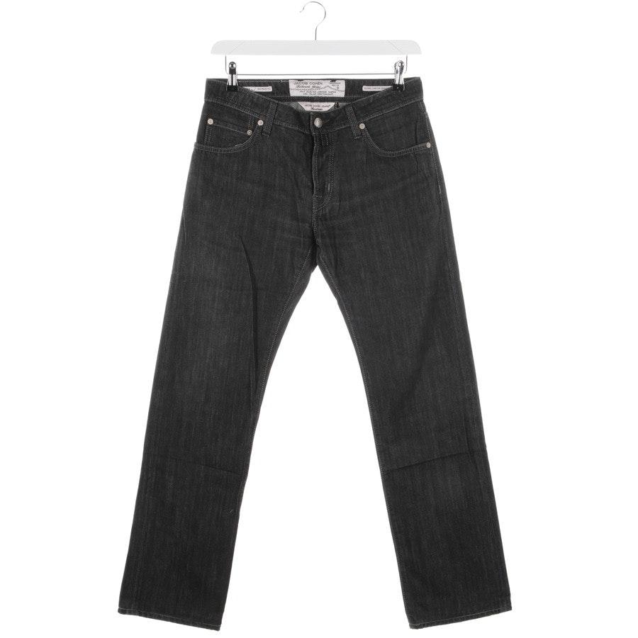 Jeans von Jacob Cohen in Dunkelgrau Gr. W33