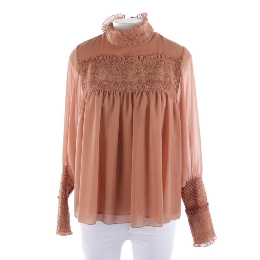 blouses & tunics from See by Chloé in maroon size 36 FR 38