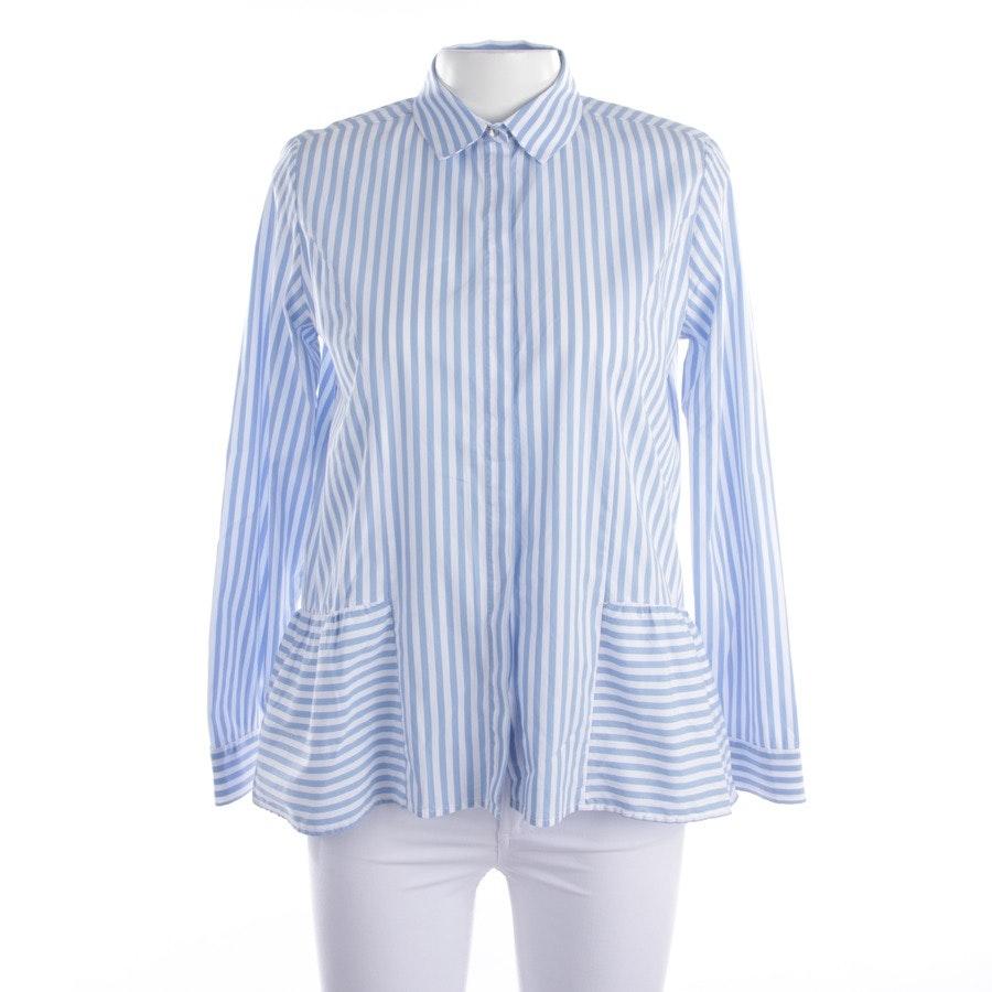 Bluse von Rich & Royal in Hellblau und Weiß Gr. 38