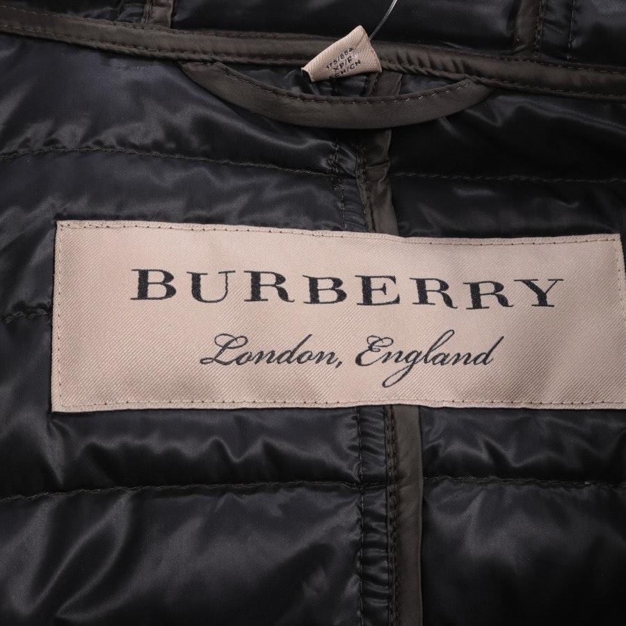 Winterjacke von Burberry in Dunkelgrün Gr. XS