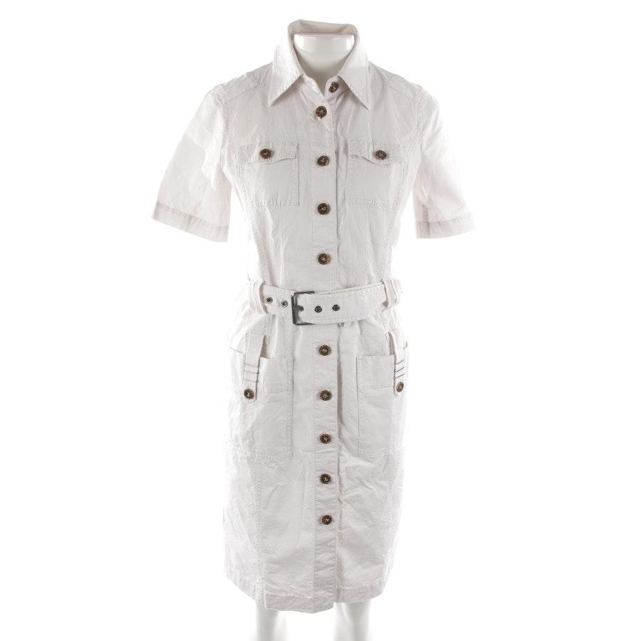 Kleid von Marc Cain in Offwhite Gr. 38 N3