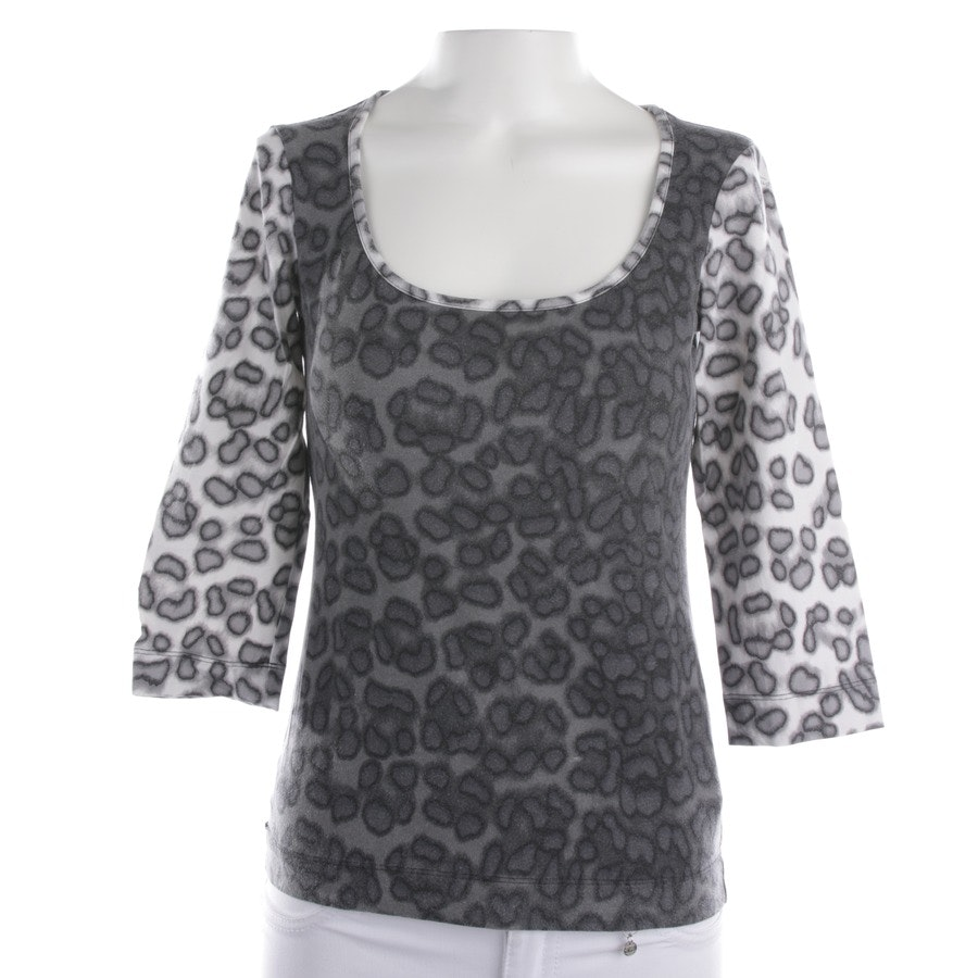 Shirt von Just Cavalli in Grau und Weiß Gr. S