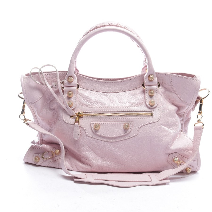 handbag from Balenciaga in delicate pink - giant 12 city new