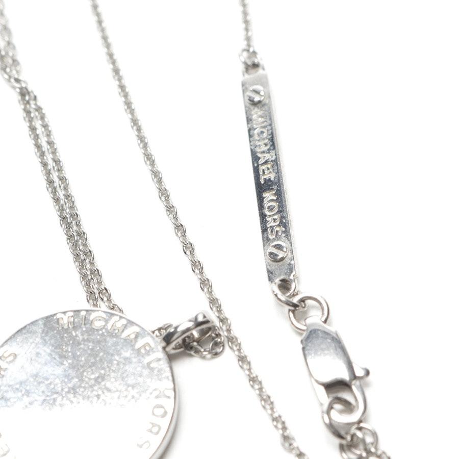 Kette mit Anhänger von Michael Kors in Silber
