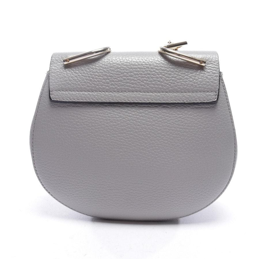 Abendtasche von Chloé in Grau - Drew Mini