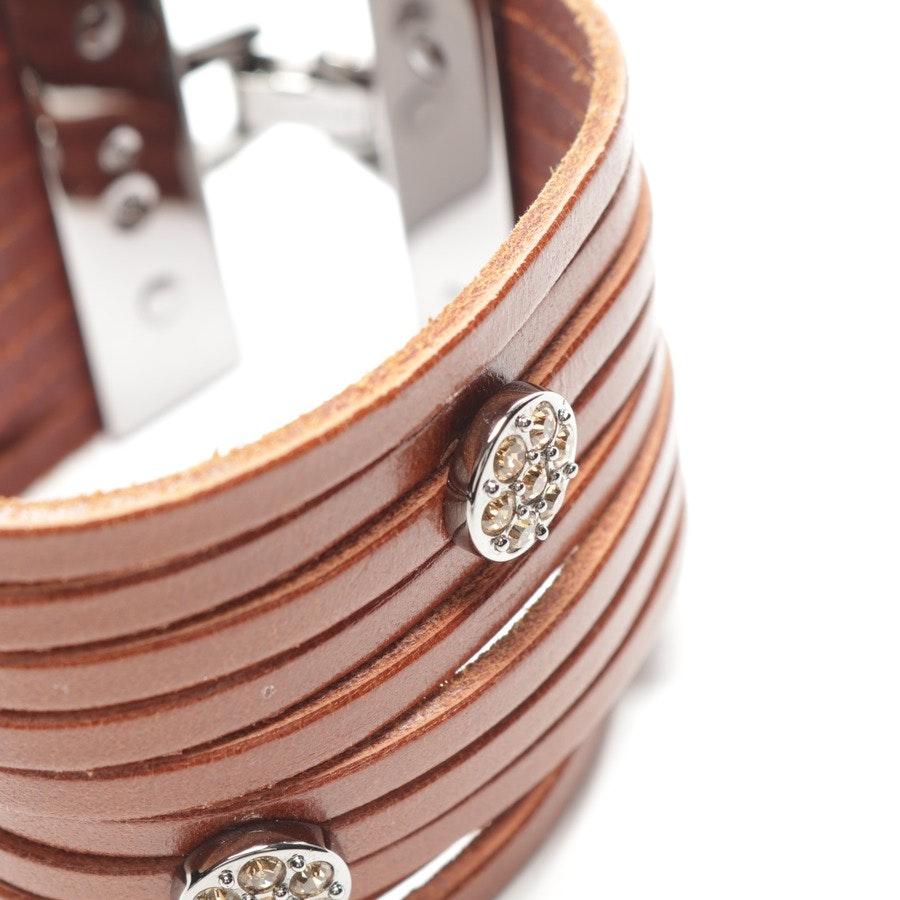 Armband von Swarovski in Braun und Silber