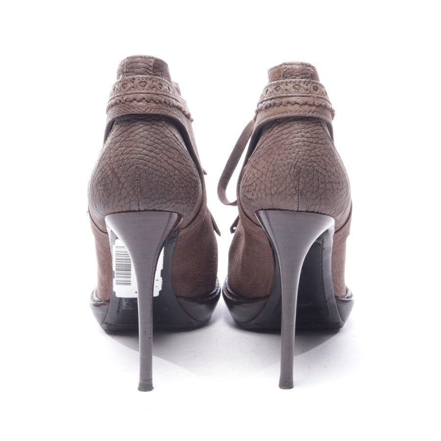 Ankle Pumps von Burberry Prorsum in Dunkelbraun Gr. EUR 39