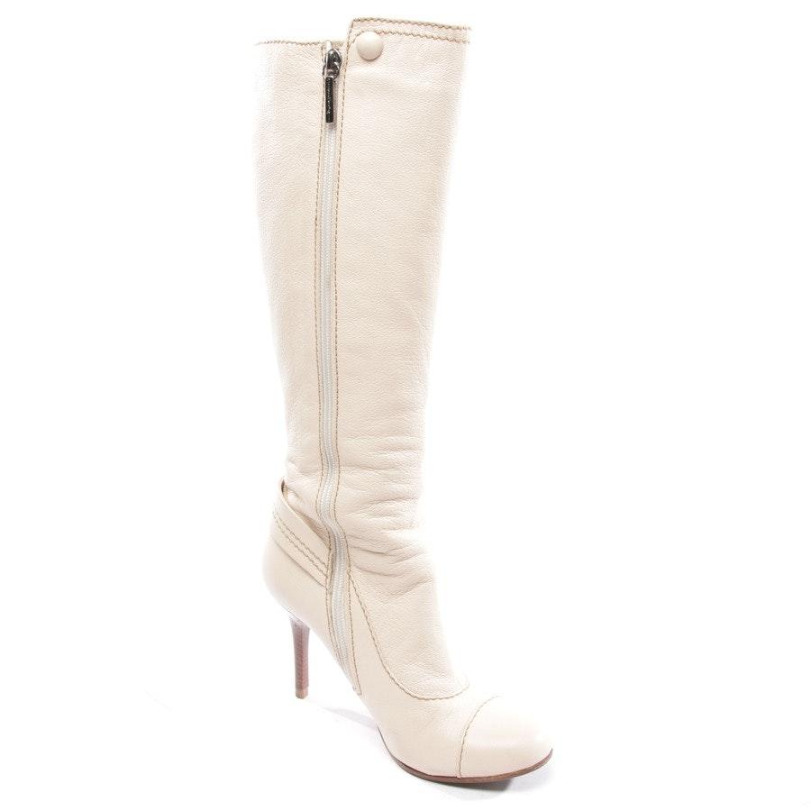 Stiefel von Mario Bologna in Cremeweiß Gr. EUR 36,5