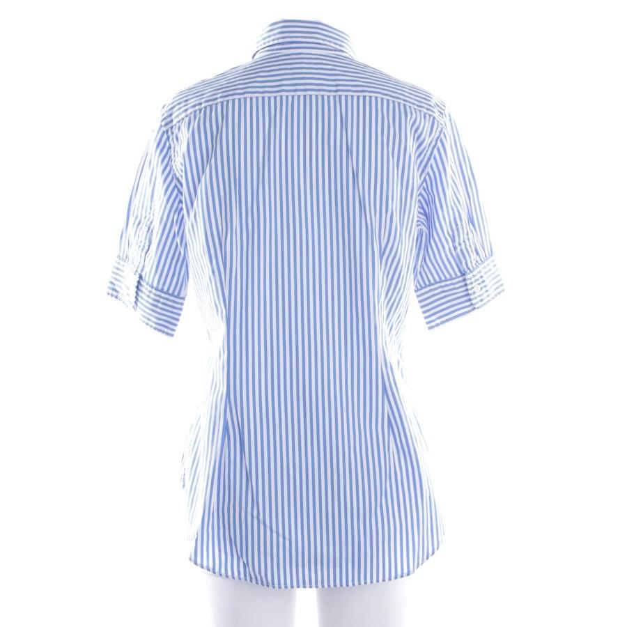Bluse von Polo Ralph Lauren in Blau und Weiß Gr. S