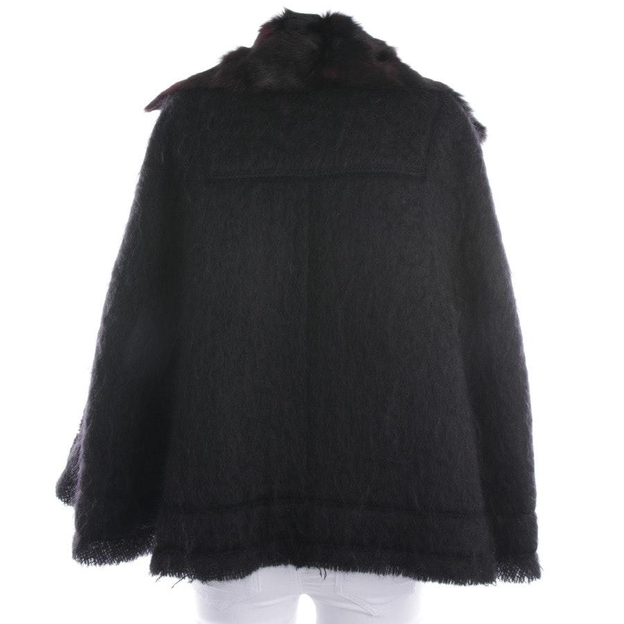 Wollcape von Louis Vuitton in Schwarz Gr. 34 FR 36
