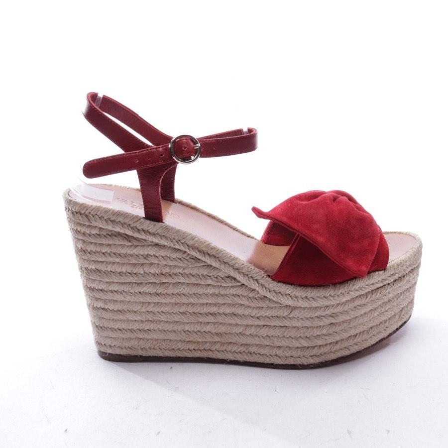 Sandaletten von Valentino in Sand und Rot Gr. EUR 39
