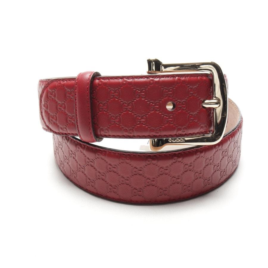 Gürtel von Gucci in Rot Gr. 90 cm