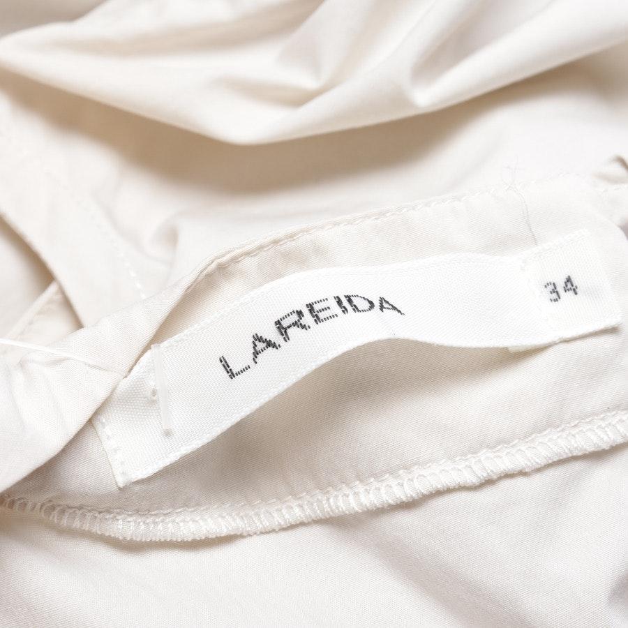 Kleid von Lareida in Beige und Weiß Gr. 34