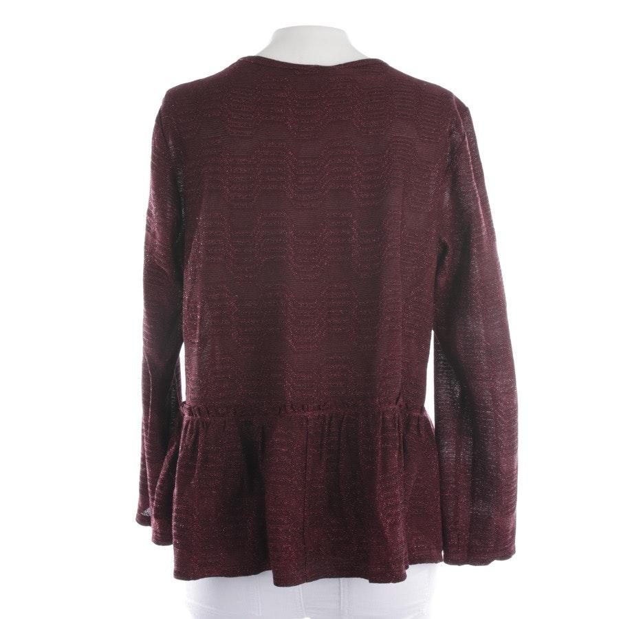Pullover von Missoni M in Bordeaux Gr. M