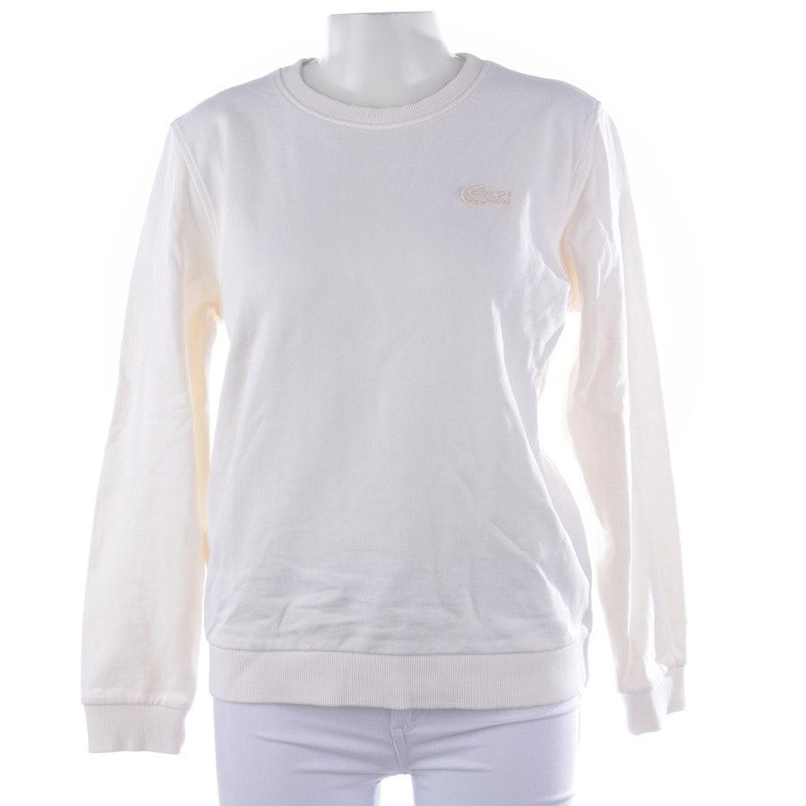 Sweatshirt von Lacoste in Weiß Gr. XL
