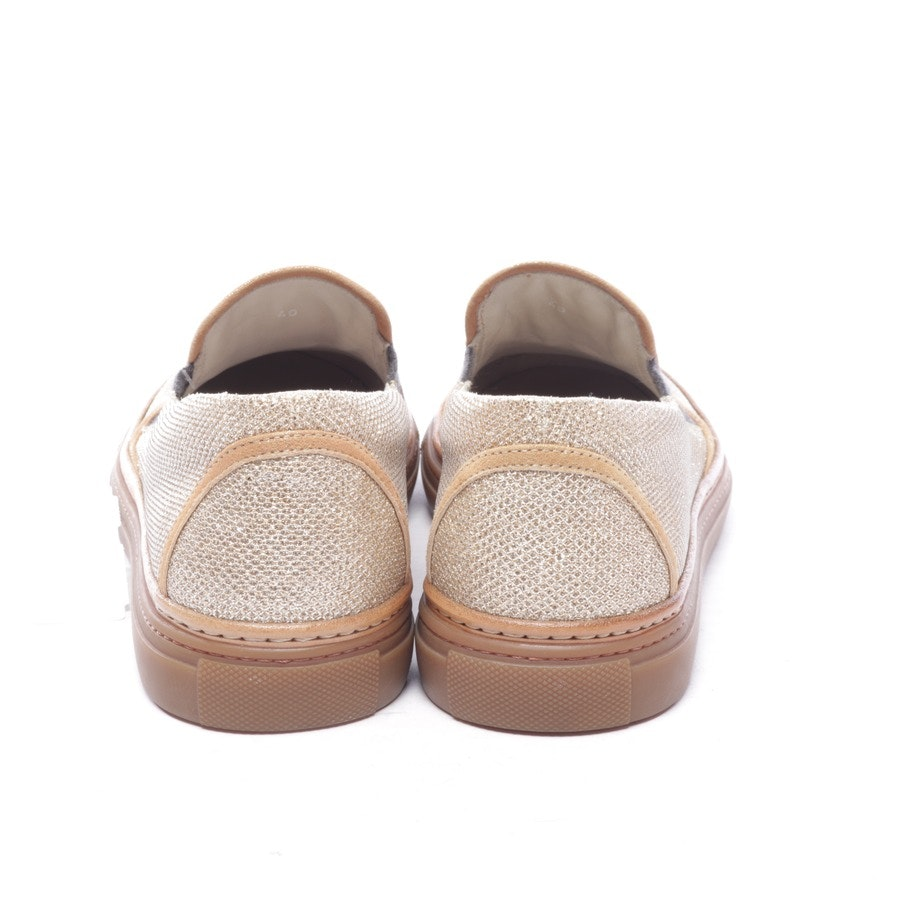 trainers from Brunello Cucinelli in gold size EUR 40 - new