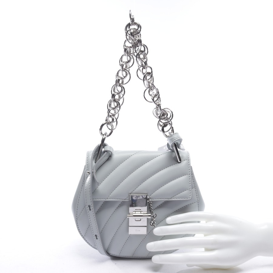 evening bags from Chloé in blue - bijou - new