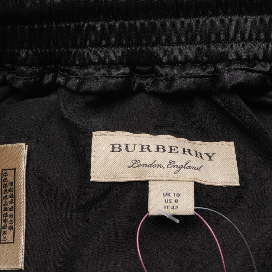 Seidenhose von Burberry in Schwarz und Weiß Gr. 36 US 6 - Neu