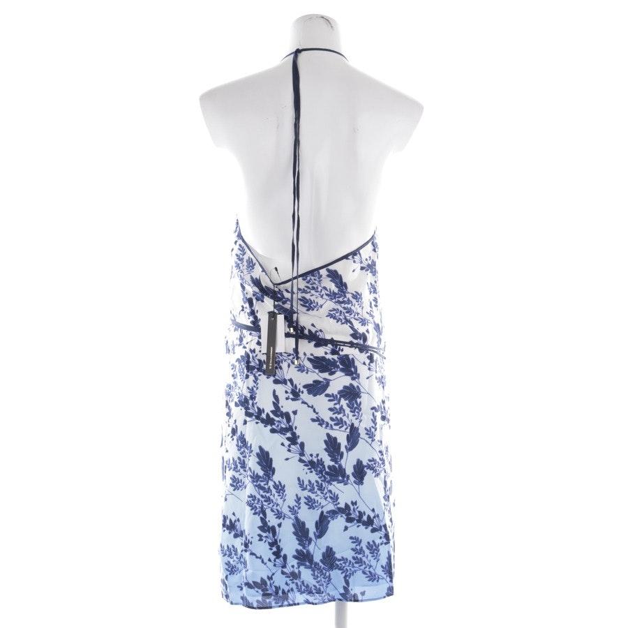 Wickelkleid von Vix Paula Hermanny in Blau und Weiß Gr. L - Neu