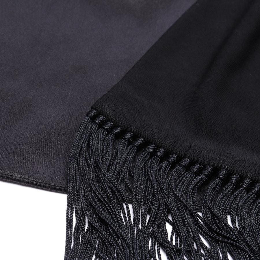 Seidenweste von Hermès in Schwarz Gr. 36 FR 38