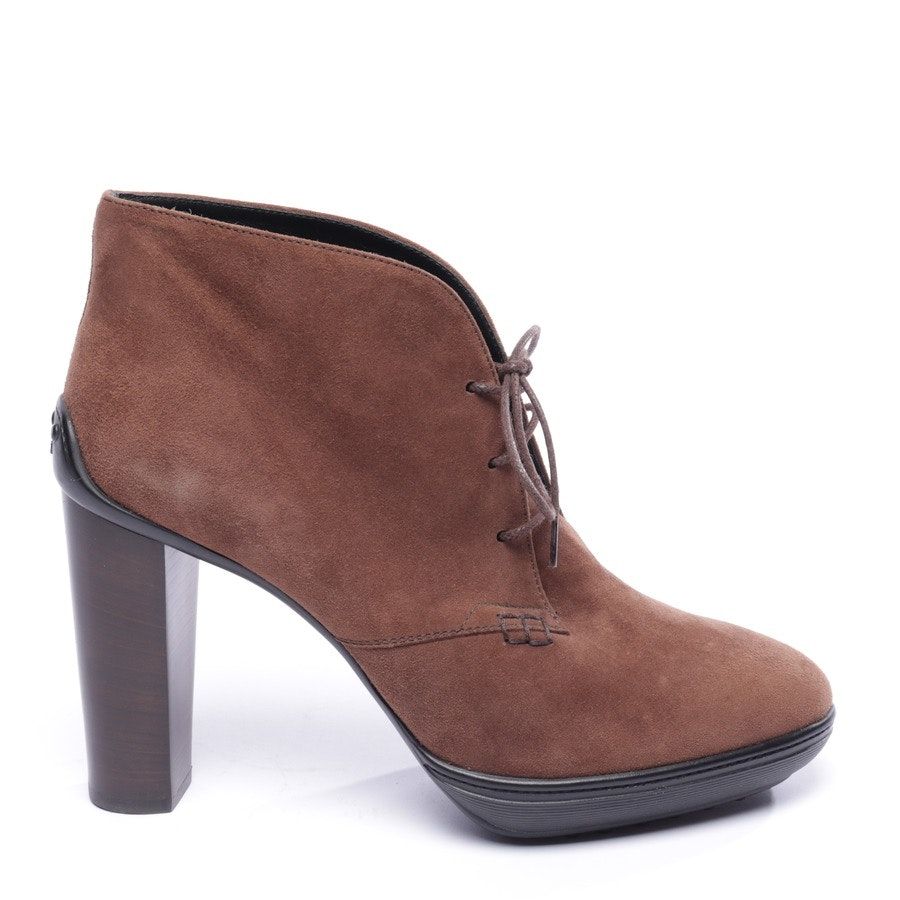 ankle boots from Tod´s in cocoa brown and black size EUR 40,5 - new