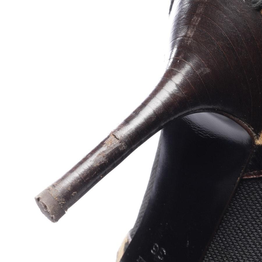 Stiefeletten von Dolce & Gabbana in Beige und Braun Gr. EUR 36