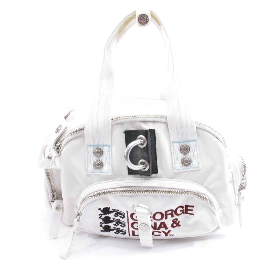 shoulder bag from George Gina & Lucy in white - sweet sally
