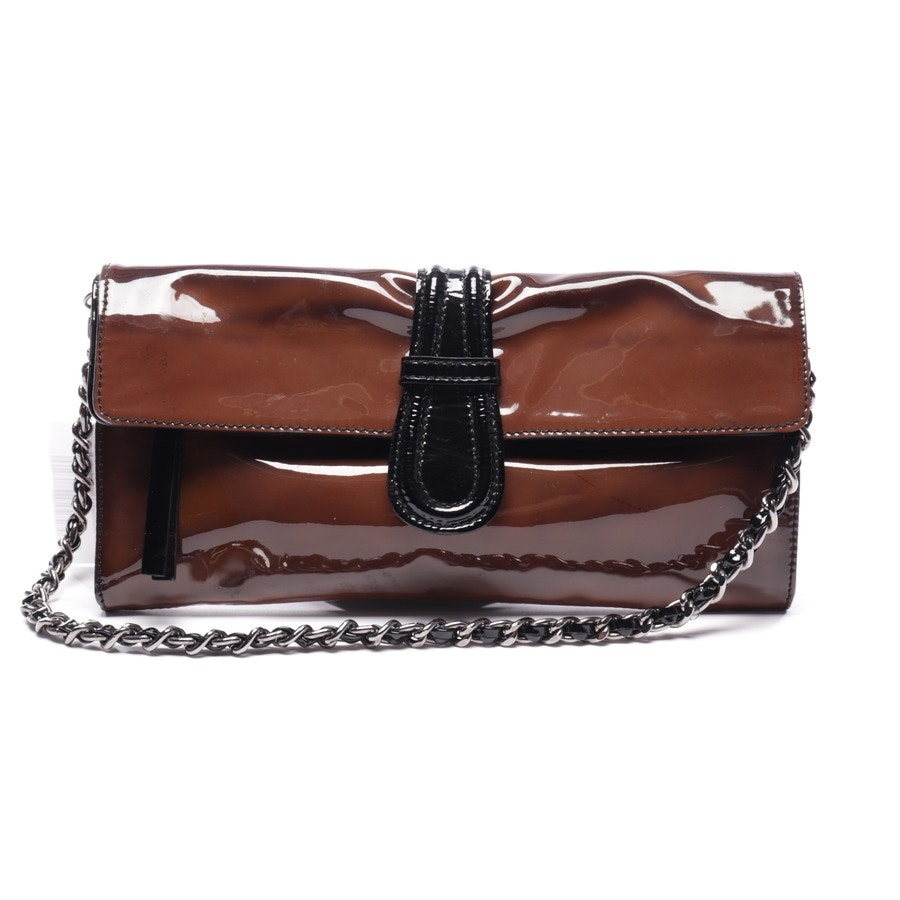shoulder bag from Abro in dark brown and black