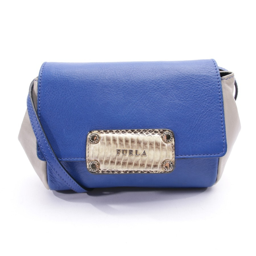 shoulder bag from Furla in light grey and blue