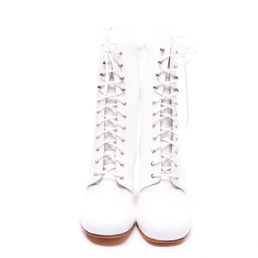 Stiefeletten von Maryam Nassir Zadeh in Weiß Gr. EUR 42 - Emanuelle Boot - Neu