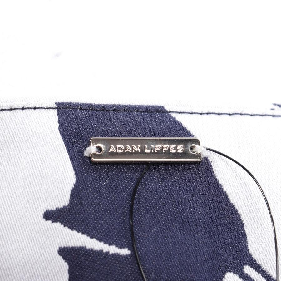 Rock von Adam Lippes in Blau und Grau Gr. 34 US 4
