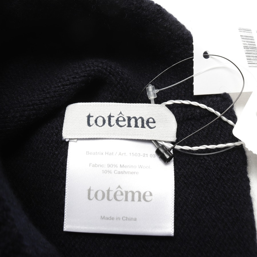 caps from totême in dark blue size One Size - new