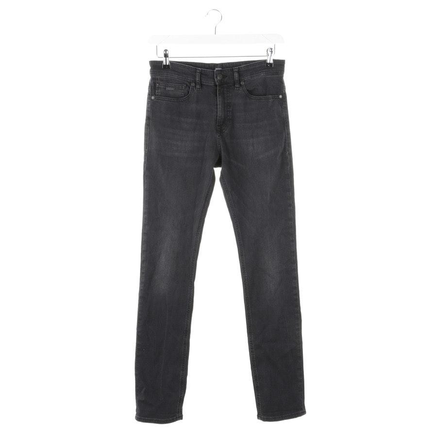 Jeans von Hugo Boss Orange in Dunkelgrau Gr. L
