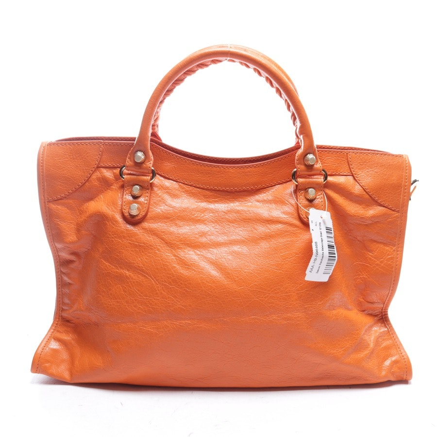 Handtasche von Balenciaga in Orange - Giant 12 City Neu