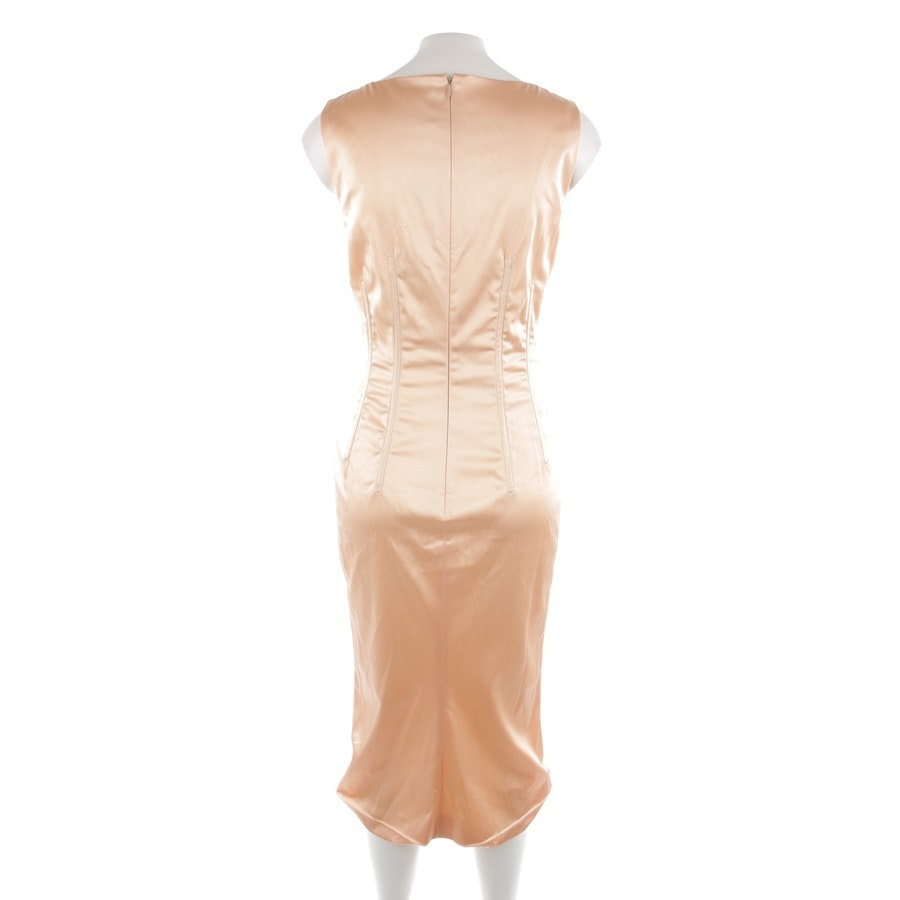 Abendkleid von Dolce & Gabbana in Apricot Gr. 38 IT 44 - Neu