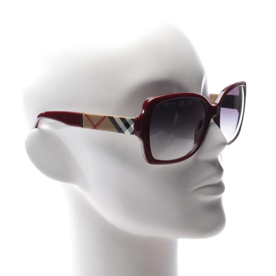 Sonnenbrille von Burberry in Weinrot und Multicolor