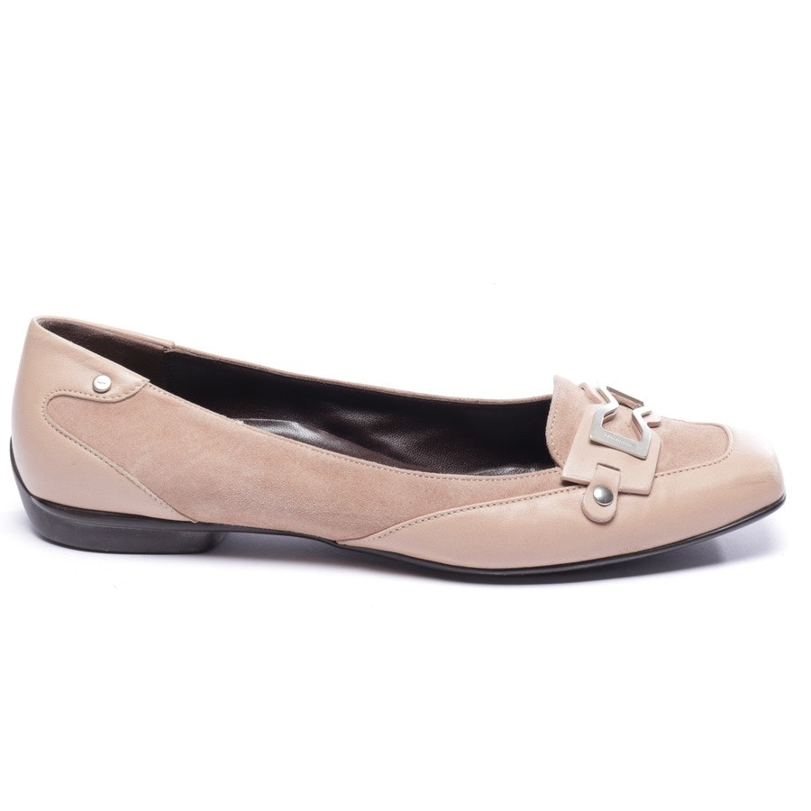 loafers from Salvatore Ferragamo in beige size EUR 39,5 US 8,5