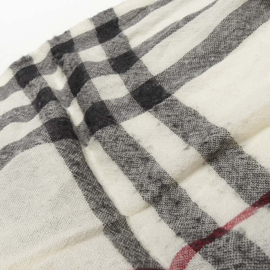 scarf from Burberry in beige and multi-coloured