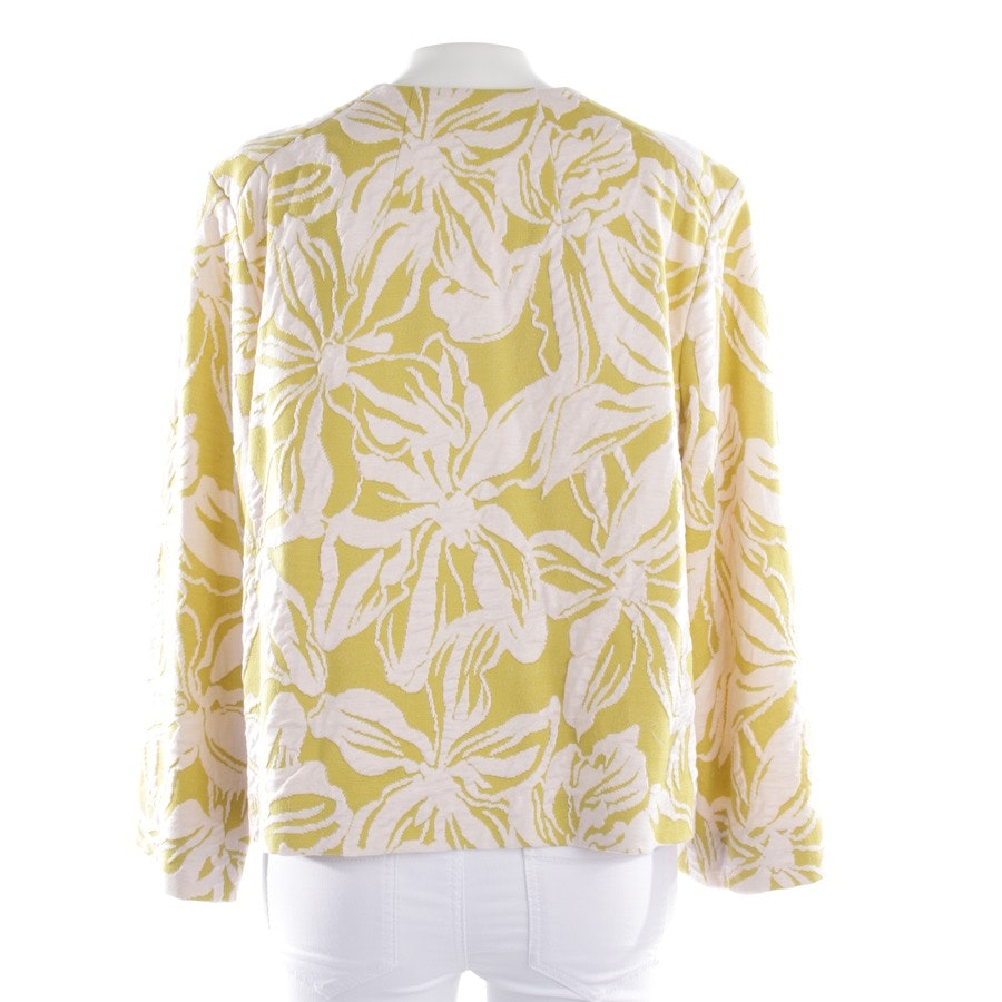 summer jackets from Odeeh in mustard yellow and white size 40