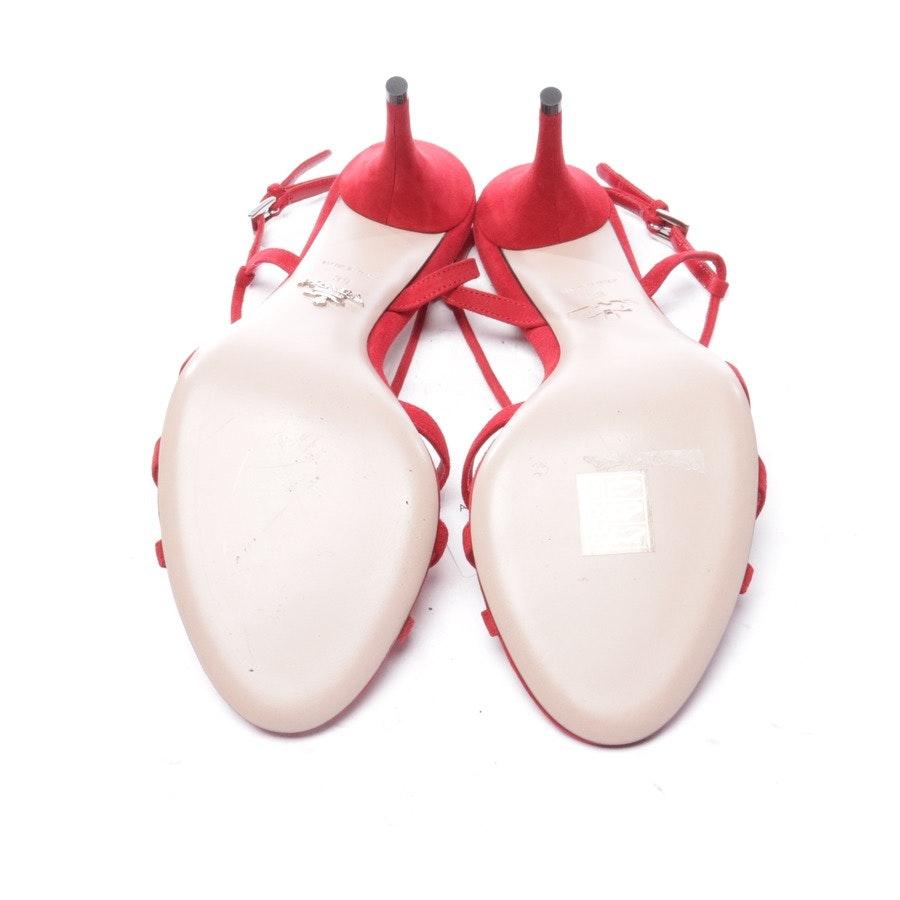 Sandaletten von Prada in Rot Gr. EUR 39 - Neu