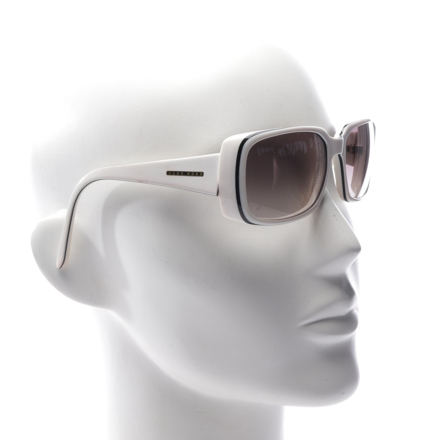 sunglasses from Hugo Boss in white and black