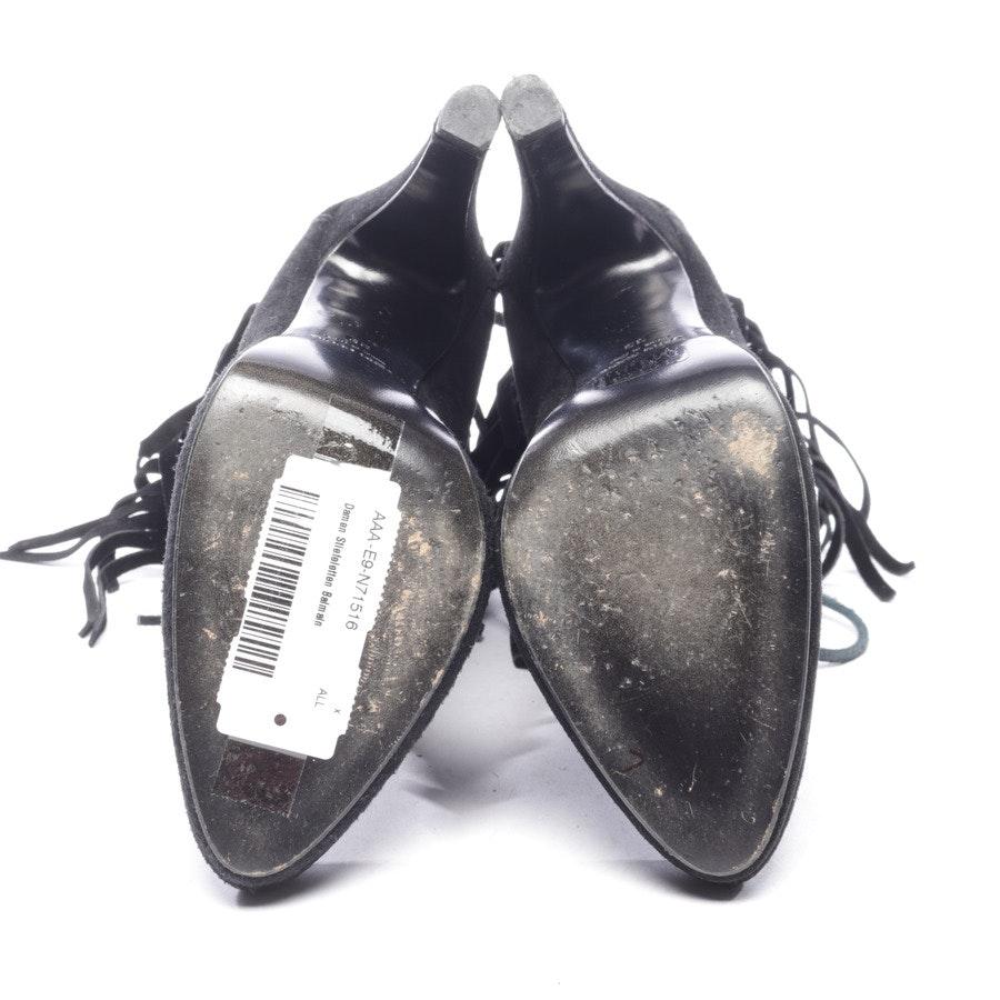Stiefeletten von Giuseppe Zanotti for Balmain in Schwarz Gr. EUR 39
