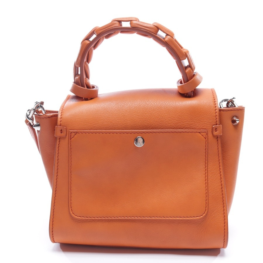 evening bags from Elena Ghisellini in orange - new